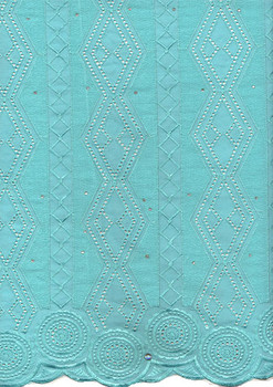 Voile Lace 249 (Mint Green)