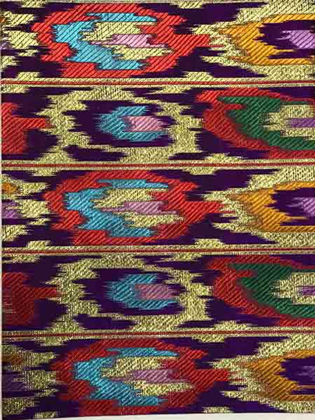 2pcs Sego Headtie 277 (Purple/Red/Gold)