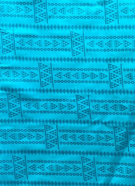 Brocade # 51 (Turquoise Blue)
