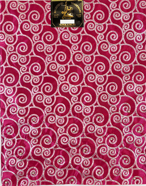 2 pcs Sego Headtie 23 (Hot pink/Silver)
