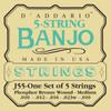 D'addario J55 Phosphor Bronze Wound Banjo Strings
