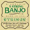 D'addario J69B Phosphor Bronze Wound Banjo Strings