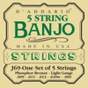 D'addario J69 Phosphor Bronze Wound Banjo Strings
