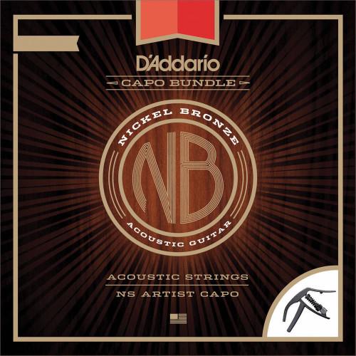 Daddario Nickel Bronze Capo Bundle