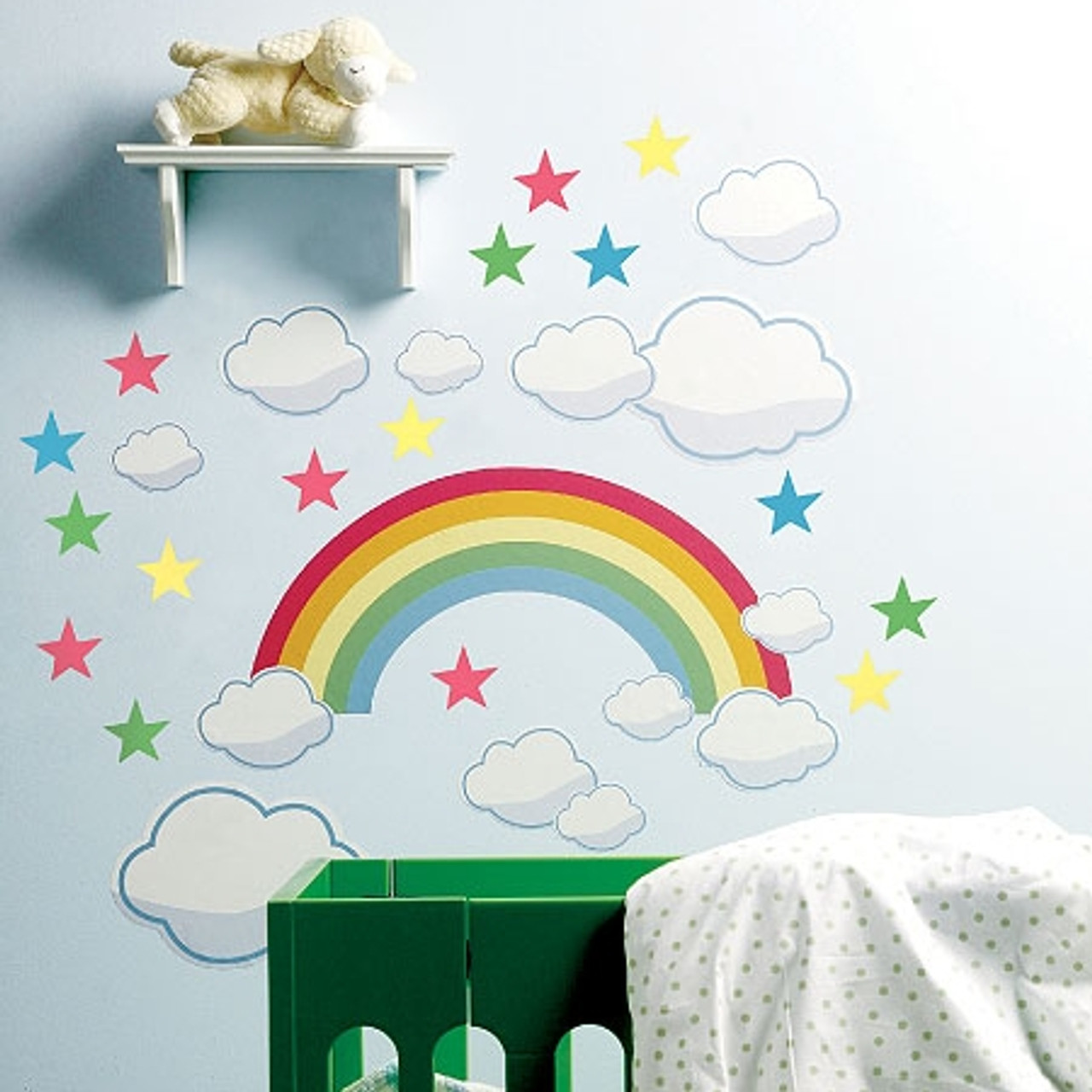 Rainbow Room Wall Stickers
