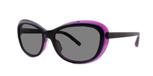 C1 Purple/Blue/Crystal w/ Gray Gradient Polarized Lenses