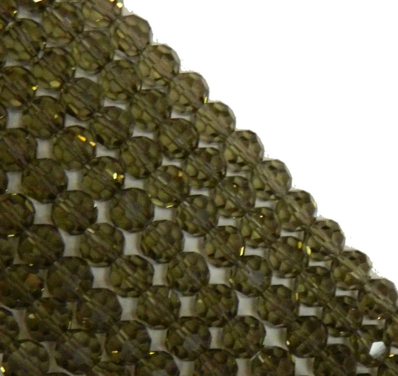 """Gray Transparent 8mm Faceted Round Beads 18"""" Strand Glass Crystal Beads B2-uc8a24"""