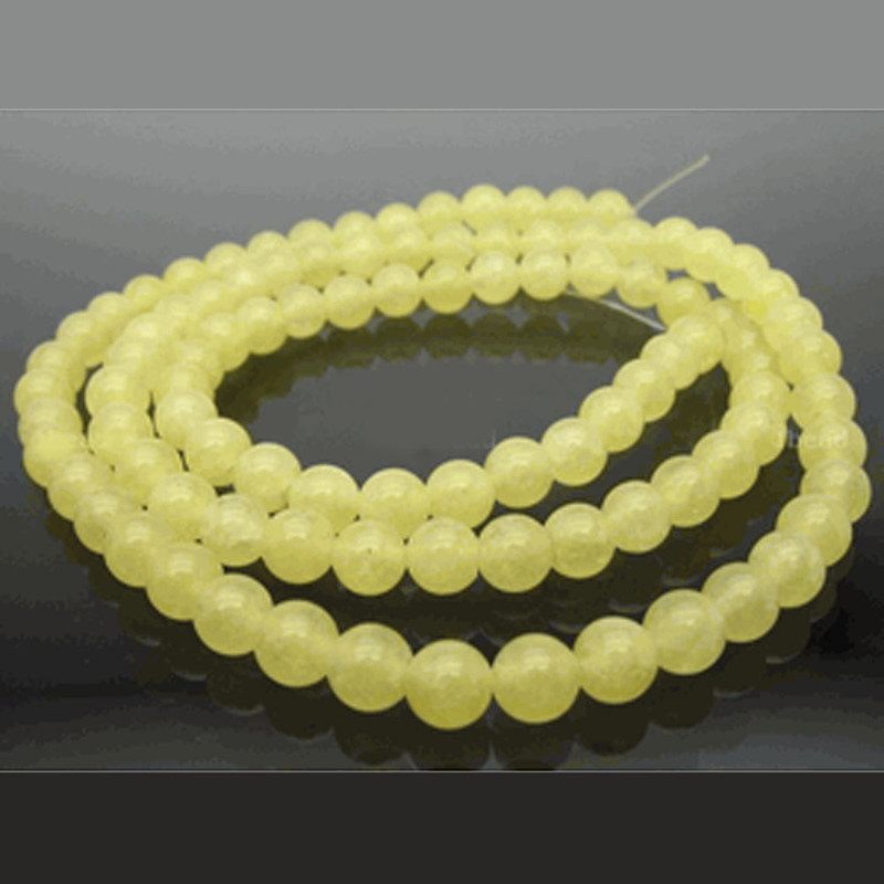 6mm Olivine Serpentine Jade Round Gemstone Beads 15 inch Loose Strand B2-6B38