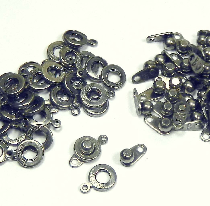Premium Weight Ball & Socket Clasp 6mm Pewter 36 Clasps Findings SKG02PE