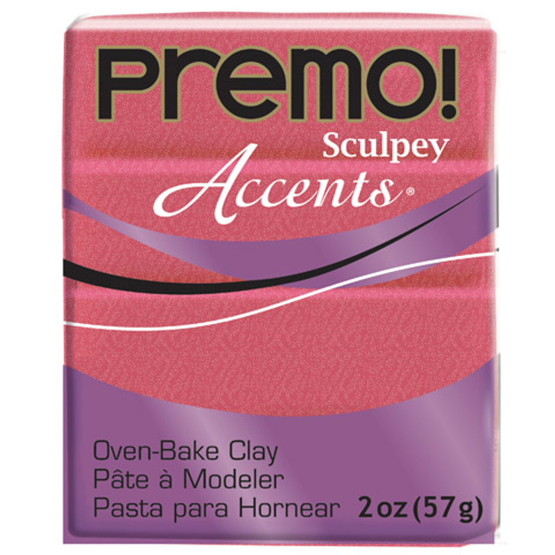 Sculpey Premo Accents Polymer Clay 2oz Sunset Pearl DA-10013665