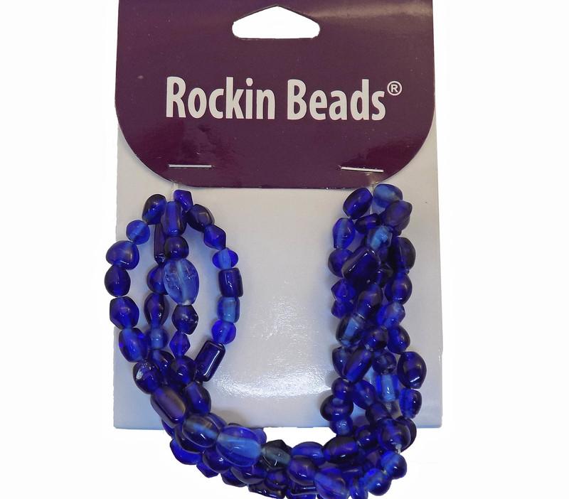 MidNight Blue Irrigular Beeds Losse Strand Bead From India SI-26017-28877 BA783935148886