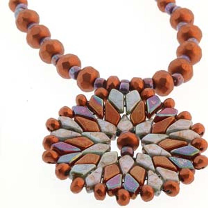 Kite Bead Necklace Free Tutorial