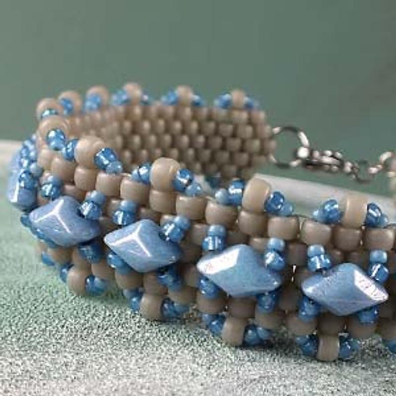 GEMDUO Madras Bracelet Free Tutorial