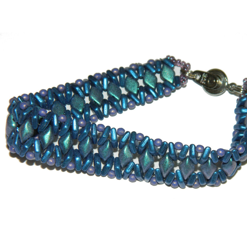 Class with Kate May 12th 9am and Kit for Insignia Bracelet Blue Violet