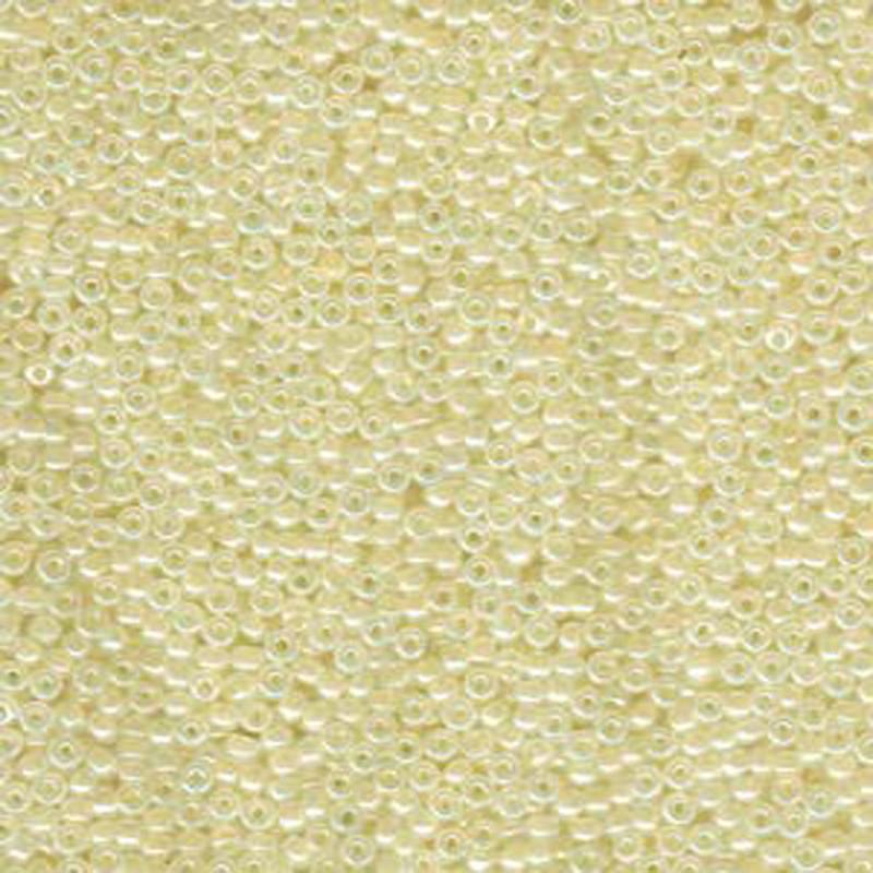 Beige Ceylon Opal Miyuki 11/0 rocailles glass seed beads 24 grams