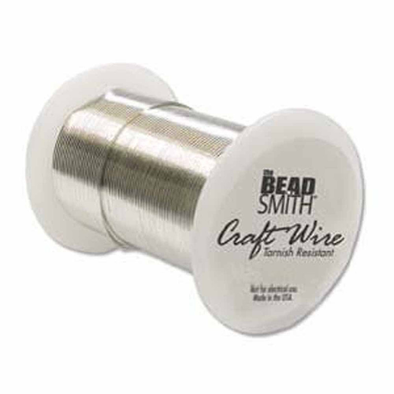18 Gauge the Bead Smithtm Tarnish Resistant Craft Wire - Silver