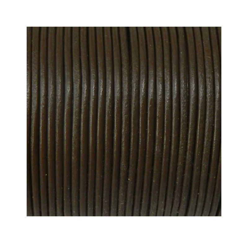 Imported India Leather Cord 2mm Round 5 Yards 4
