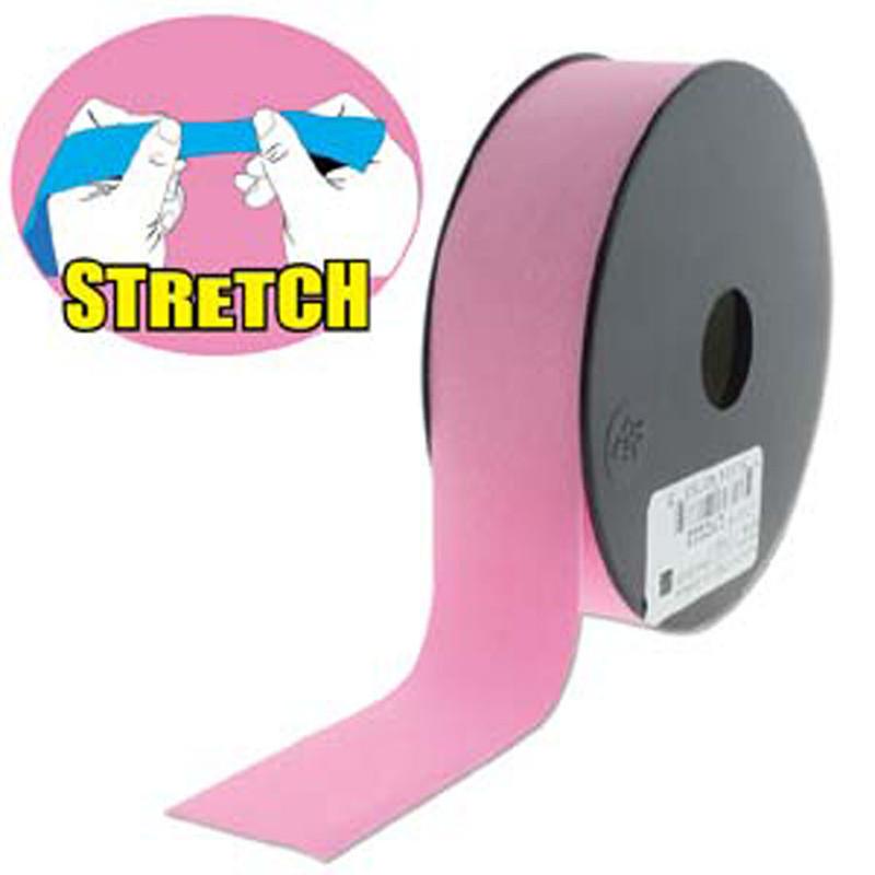 Pink Shine 30mm Fashion Flat Stretch Cord 10 Yd Spool Jewelry Spandex