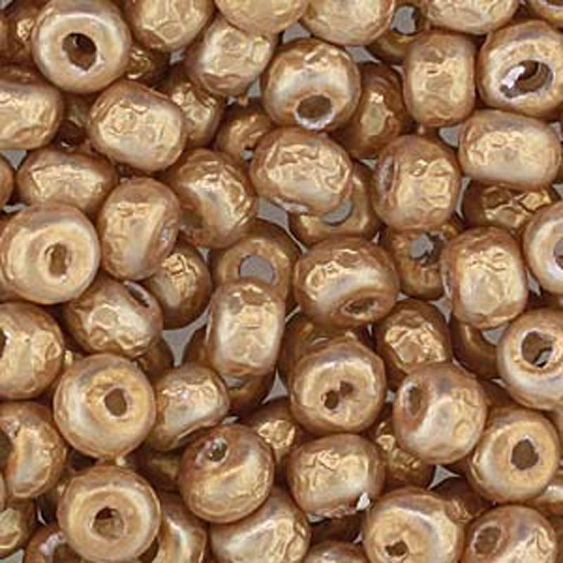 Baroque Pearl Gold Miyuki E Beads 5/0 Seed Bead Glass 50 Gram