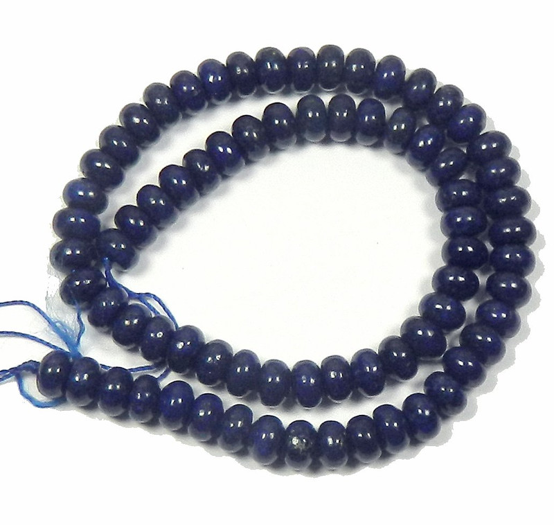 "4mm Lapis Lazuli Round Beads 40cm 15"" Stone"