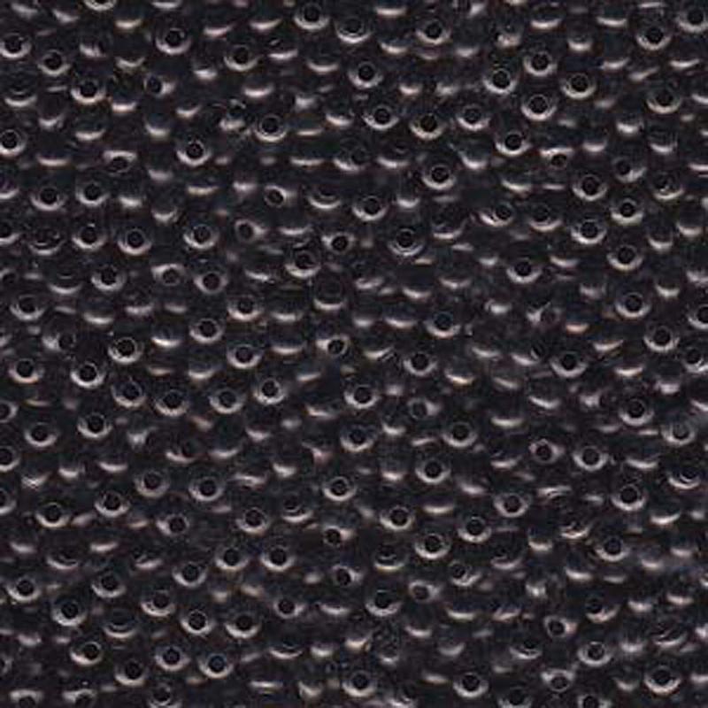 Genuine Metal Seed Beads 8/0 Gun Metal 40 Grams