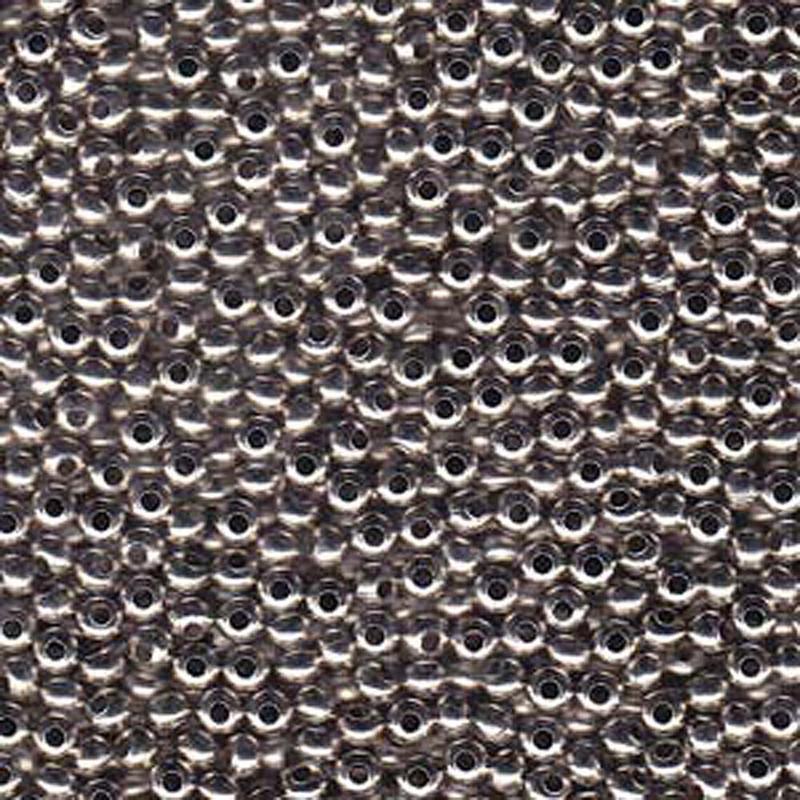 Genuine Metal Seed Beads 8/0 Nickel Plated 39 Grams