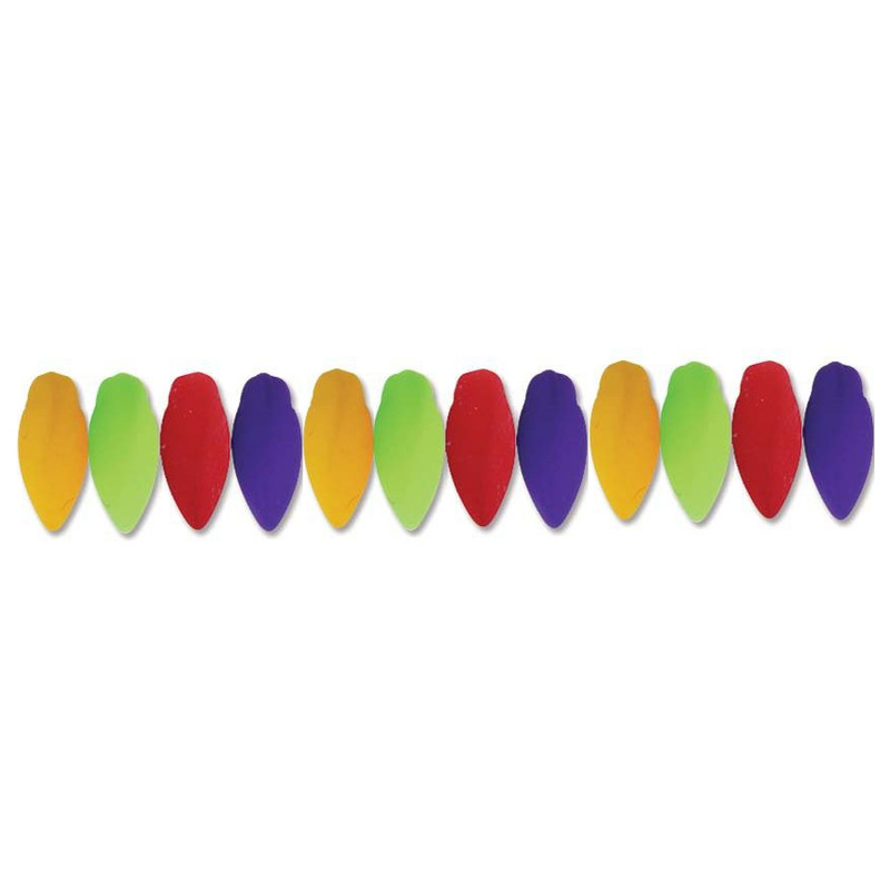 Neon New Mix Czech Glass Twist Beads 6x12mm Apprx 25 bead loose strand TWST612-NEON3