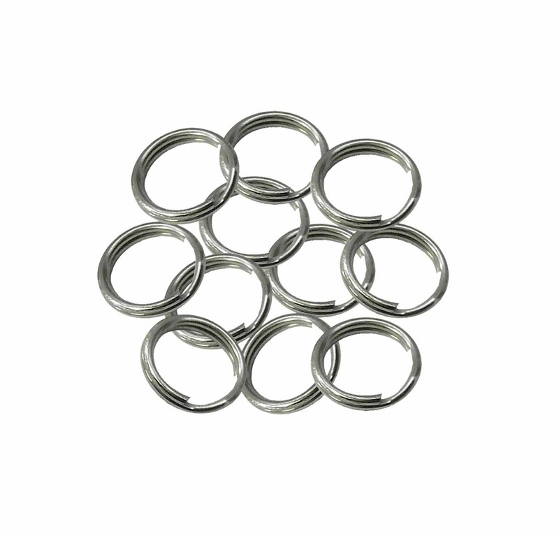 95 Split Ring Stainless Steel USA (12.29mm Outside 0.484 In) 94558-95