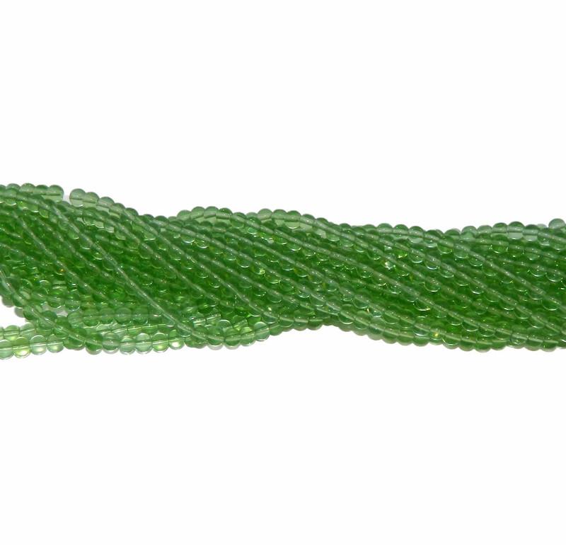 "6mm Green Quarts Manmade Gemstone beads Round Beads 15"" Loose Strand"