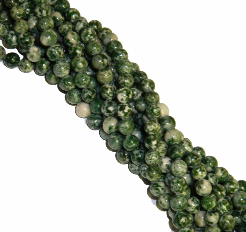 "10mm Tree Agate Round Beads 40cm 15"" Gemstone B2-10a23"