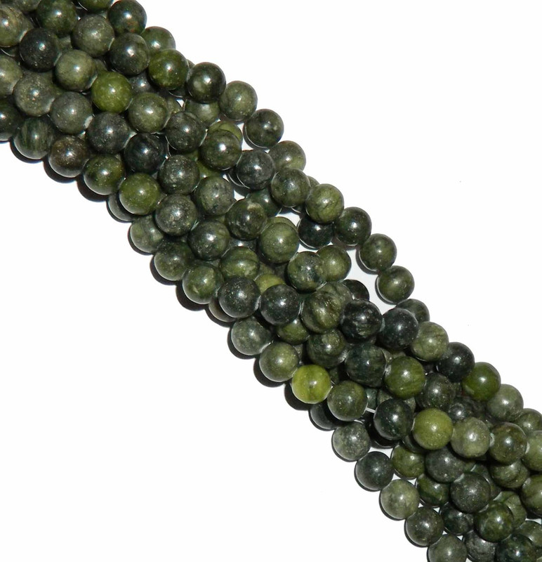 "12mm Nephrite Jade  Round Beads 40cm 15"" Gemstone B2-12a18"