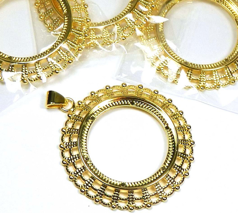 4 gold plated fits 38mm round cabochon pendant setting 4 4 gold plated fits 38mm round cabochon pendant setting aloadofball Gallery