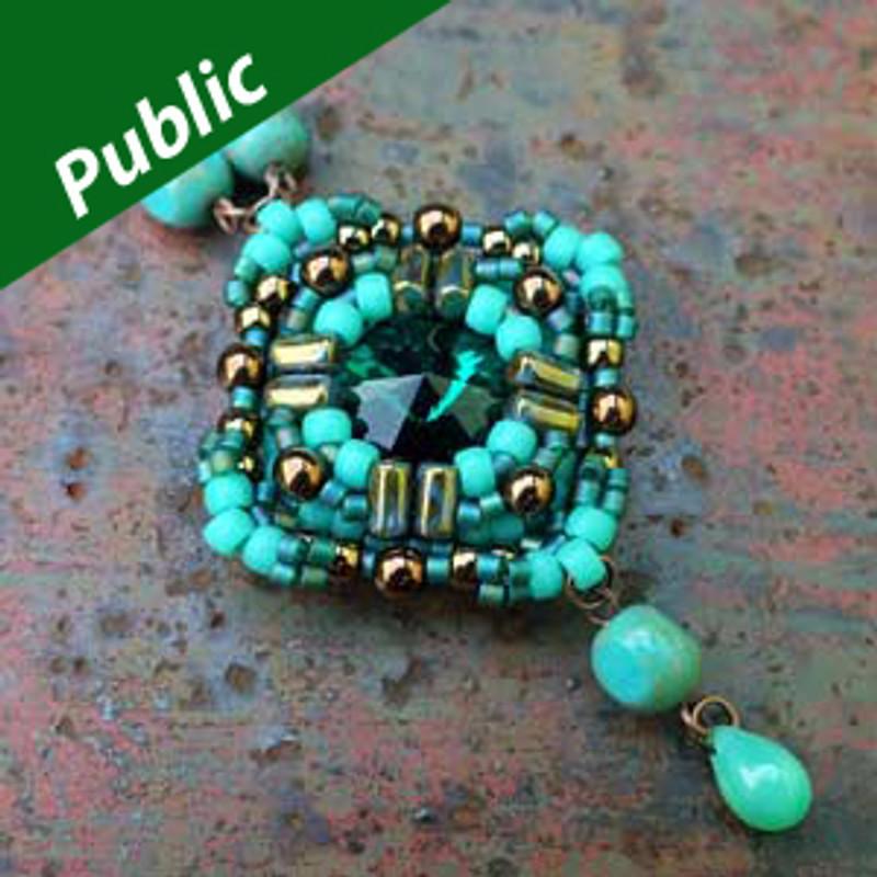 CRESSIDA PENDANT- Free Jewelry Making Project