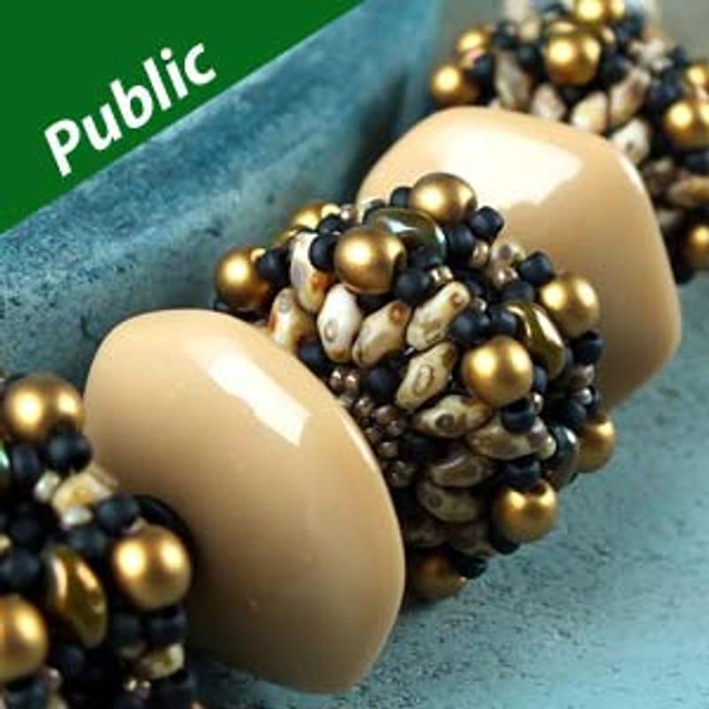 MINIDUO RONDELLES Free Jewelry Making Patern