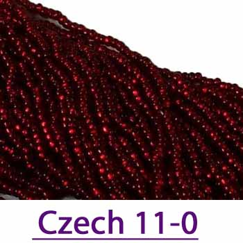 Czech 11/0 Seed Beads over 500 colors
