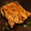 Earl's Louisiana Cajun Pork Cornbread Stuffed Deboned Chicken