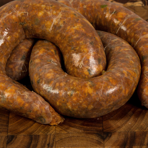 Half & Half! If you've never had half Cajun Pork Half Beef sausage, you are missing out!