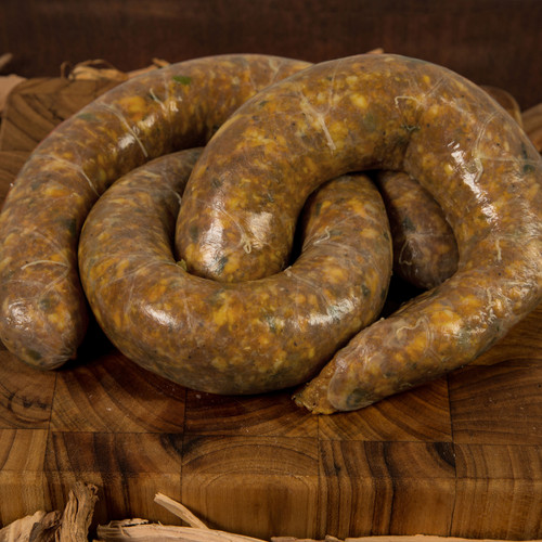 Fresh Louisiana Cajun Chicken Sausage! We promise you haven't had chicken like this!!!!