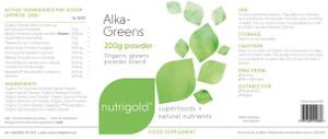 NutriGold Alka Greens 200g