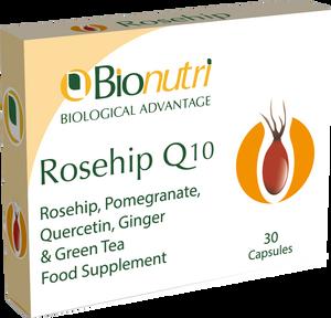 Bionutri Rosehip Q10 30 Capsules