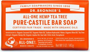 Dr Bronner's All-One Hemp Tea Tree Pure-Castile Soap 140g