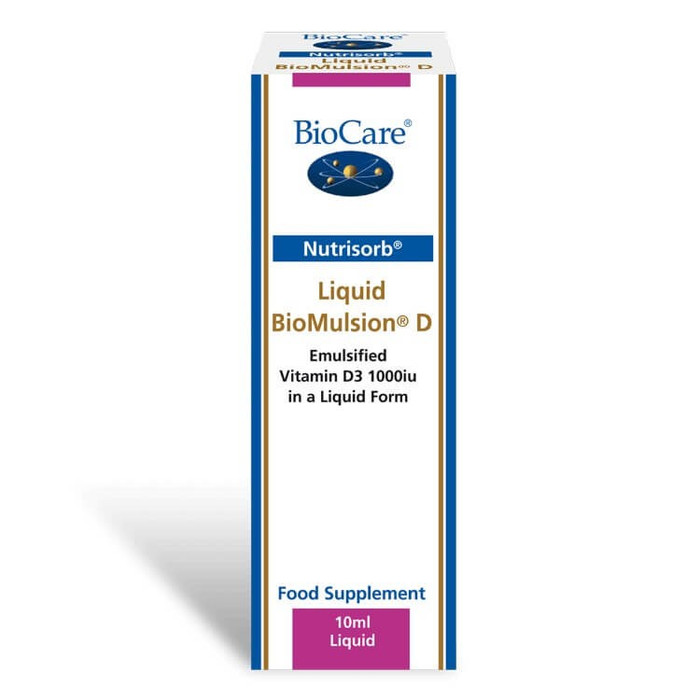 BioCare BioMulsion D (1000iu) 10ml