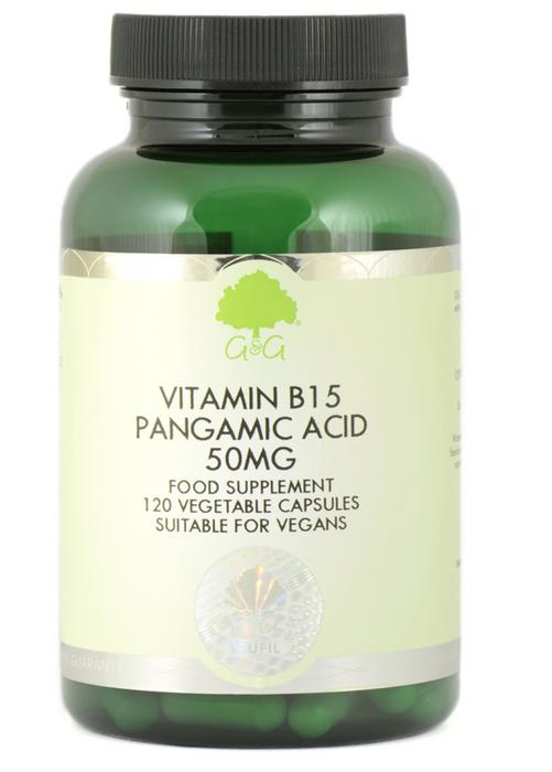 G&G B15 Pangamic Acid 50mg