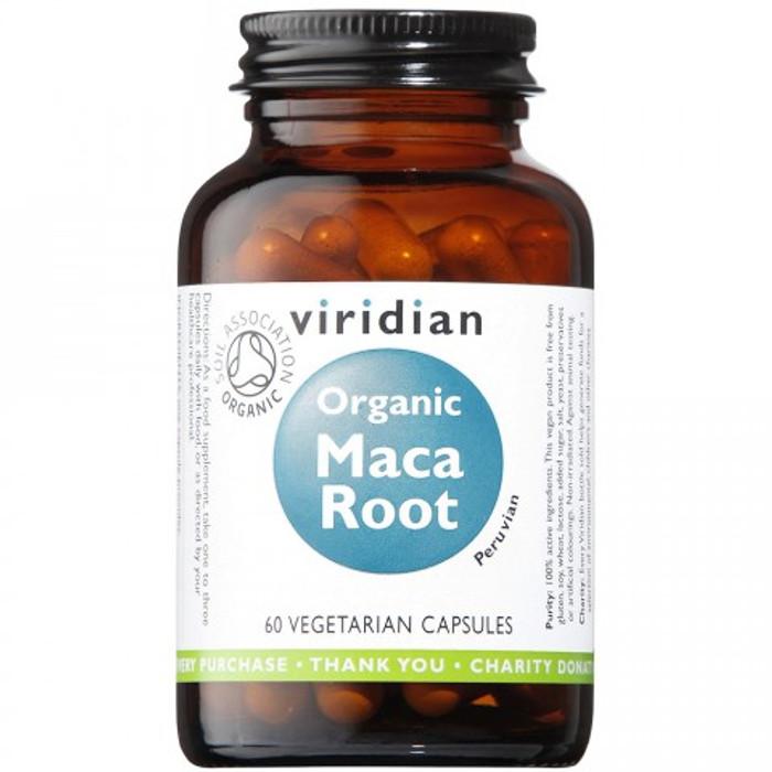 Viridian Organic Maca Root 60 Capsules