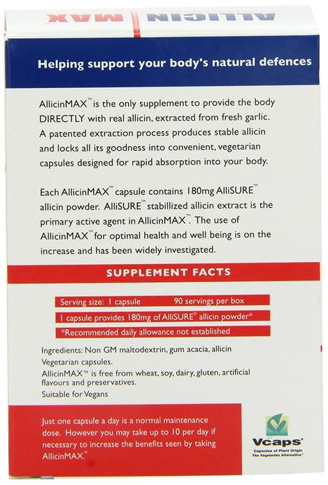 allicin max 90 capsules