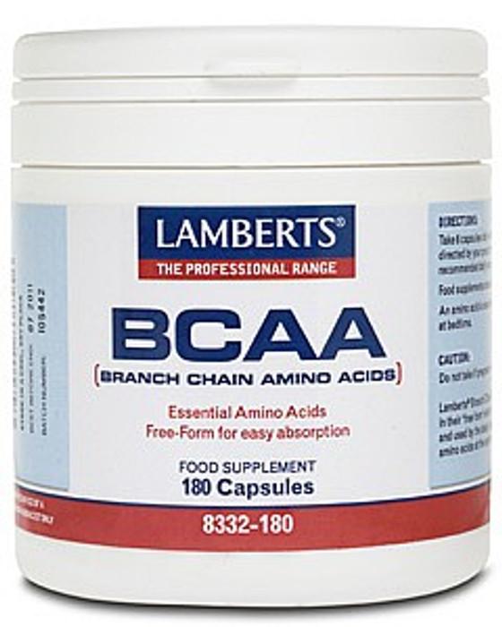BCAA (Branch Chain Amino Acids) 180 Capsules