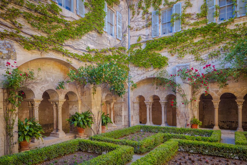 The Courtyard of St. Paul de Mausole, Saint Remy