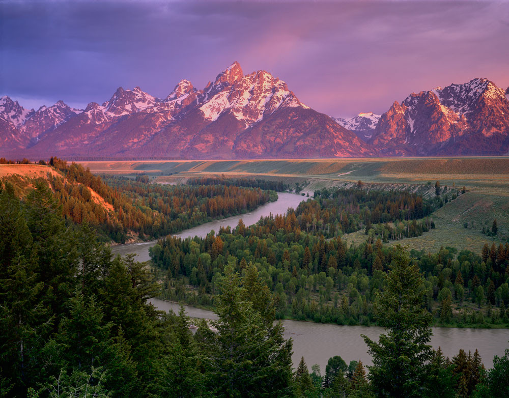 Snake River Overlook And The Grand Teton Vern Clevenger