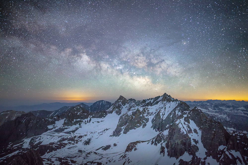 The Palisades and the Milky Way