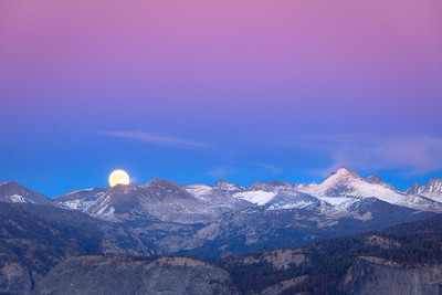 SuperMoon, Yosemite Back-Country